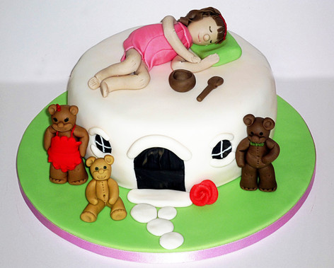 Goldilocks Birthday Cake