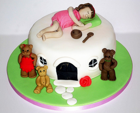 Goldilocks Birthday Cake