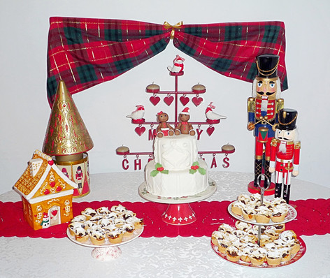 The Nutcracker Christmas table