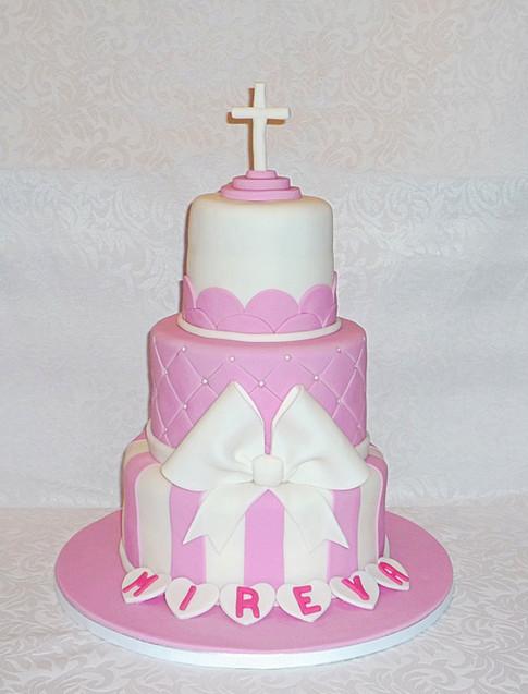 Mireya's Christening Cake