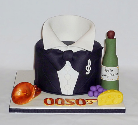 James Bond 0050 Cake