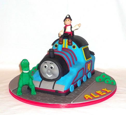 3D Thomas the Tank Engine Cake