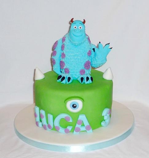 Monster's Inc Sully Cake