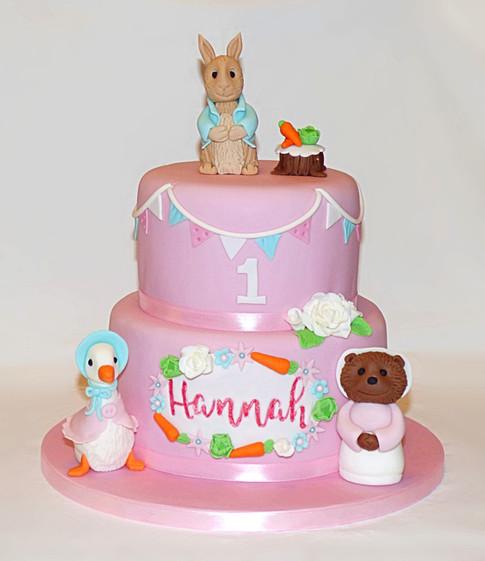 Hannah's Peter Rabbit cake