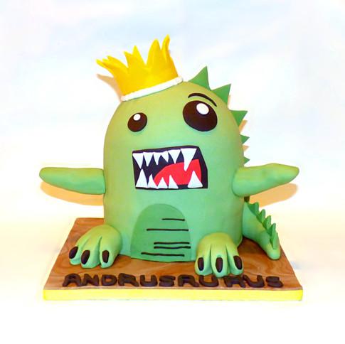 Andrusaurus Rex cake