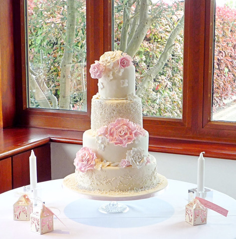 My Wedding Cake table