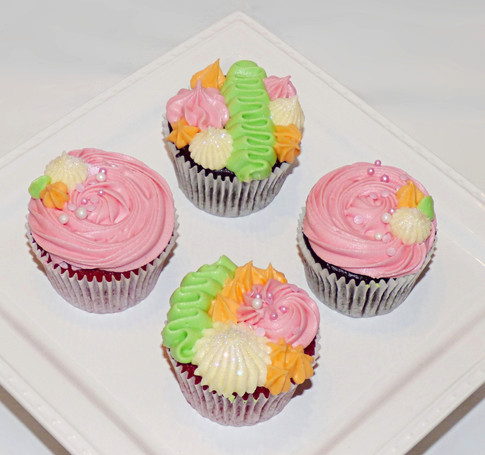 Carnival cupcakes 4