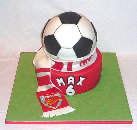 Arsenal FC Birthday Cake