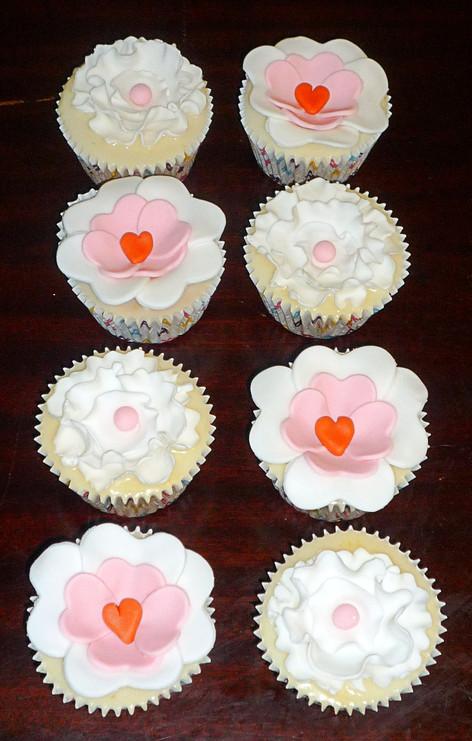 Vegan Love Hearts Cupcakes