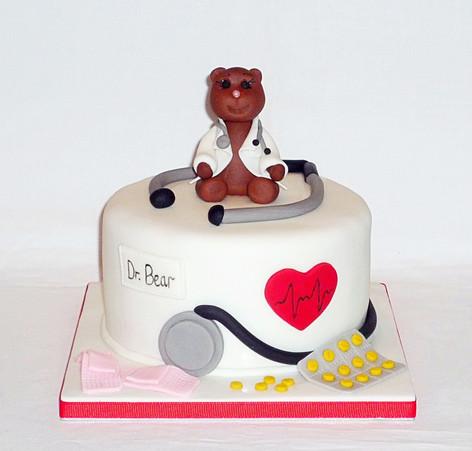 Dr Bear Cake