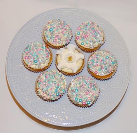 Unicorn Sprinkle Cupcakes