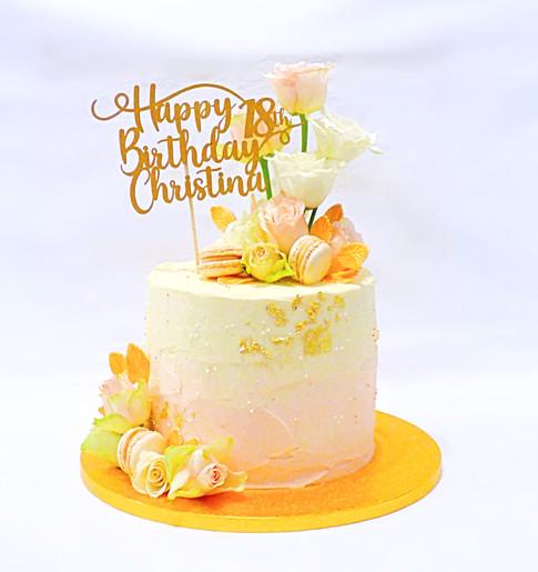 Christina 18th cake