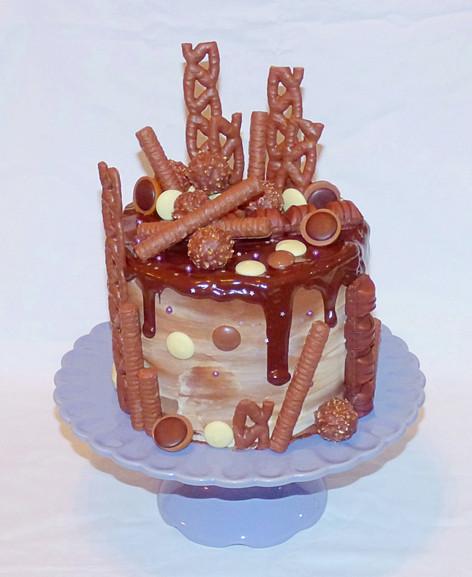 Chocolate Drip Birthday
