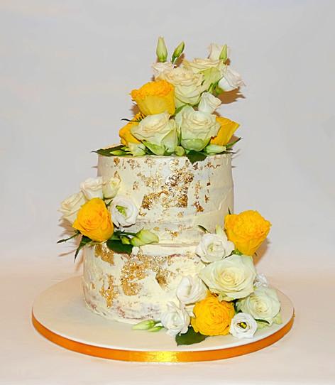 50th Wedding Anniversary cake