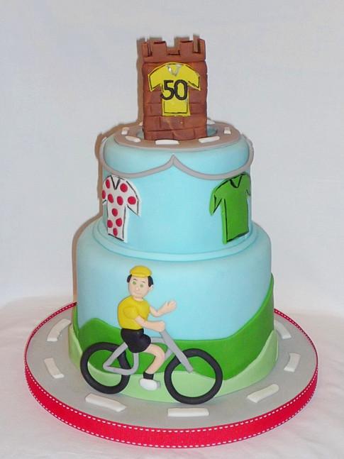 Tour de France Yorkshire Cake
