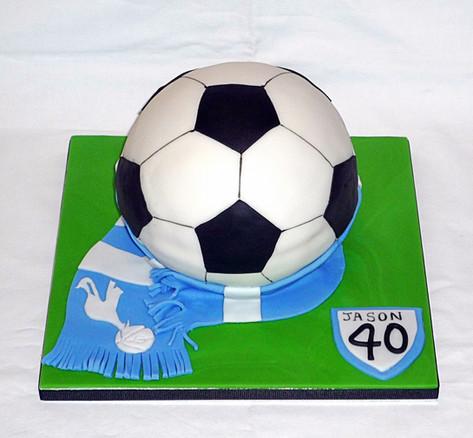 Tottenham Hotspurs Football Cake