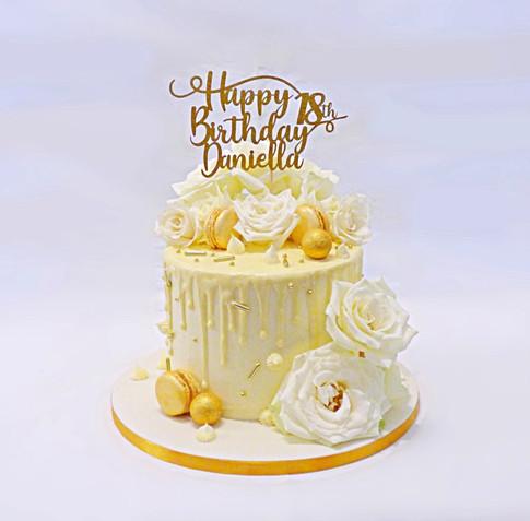 Daniella 18th birthday cake