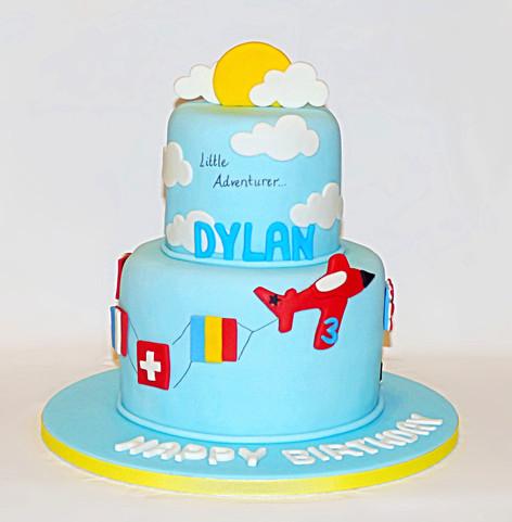 Little Adventurer birthday cake