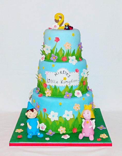 Mireya's Little Kingdom Birthday Cake