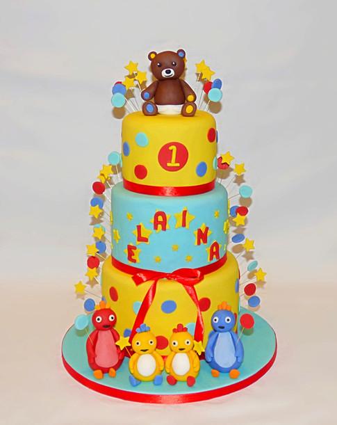 Elaina's Cbeebies birthday cake