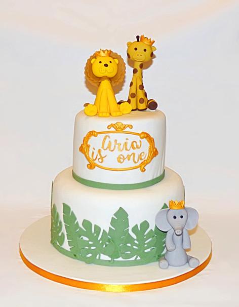Little Prince Safari cake