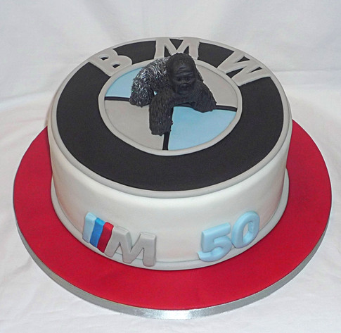 BMW Birthday Cake