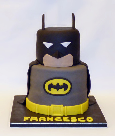 Dark Knight Batman cake