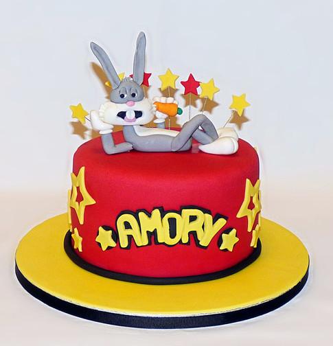 Bugs Bunny birthday cake