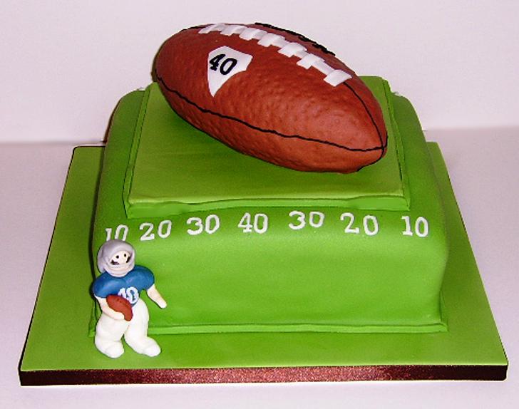 American Football Birthday Cakes