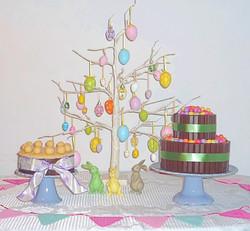 Easter Egg Dessert Table