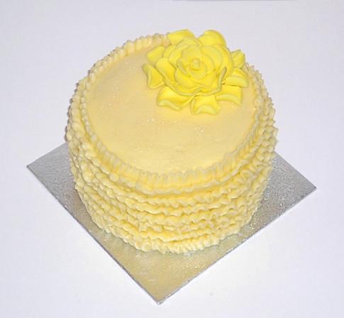 Buttercream Frills Cake