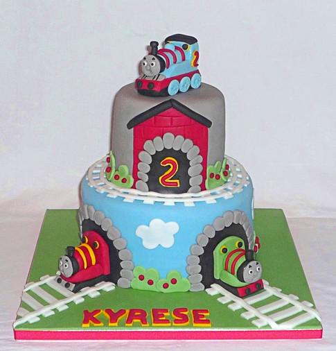 Thomas the Tank Engine & Friends Cake
