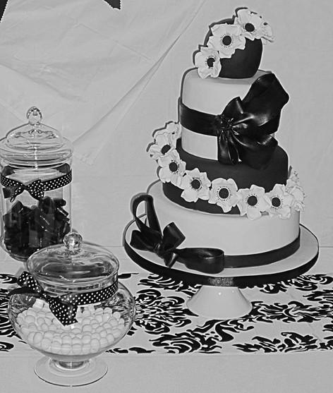 Bride Wedding Cake