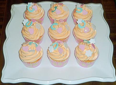 Wedding Confetti Cupcakes