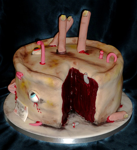 Sweeney Todd cake