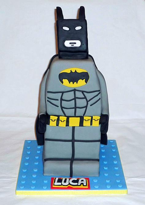 3D Lego Batman Cake