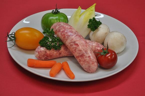 saucisse traditionnelle de bretagne
