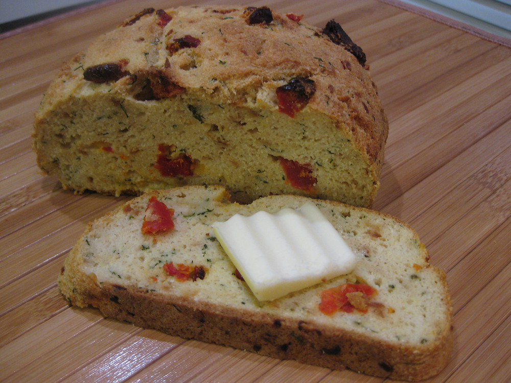 Sun-Dried Tomato and Dill Bread