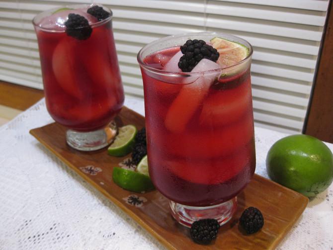 Hibiscus Blackberry Cooler