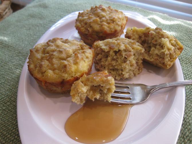 Maple Keto Pancake Sausage Muffins