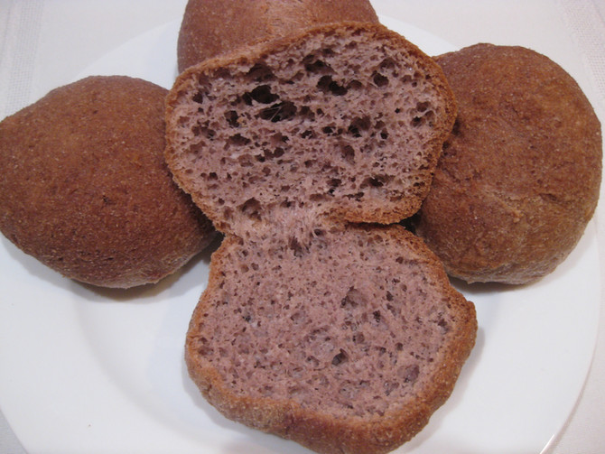 Eggless Keto Bread Rolls (vegan, gluten free)