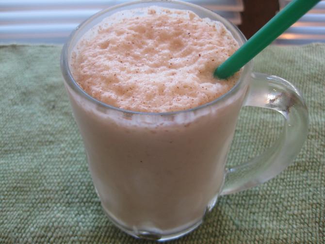 Sugar-Free Salted Caramel-Almond Shake
