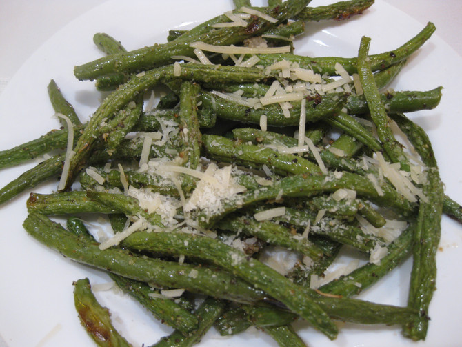 Italian Roasted Green Beans