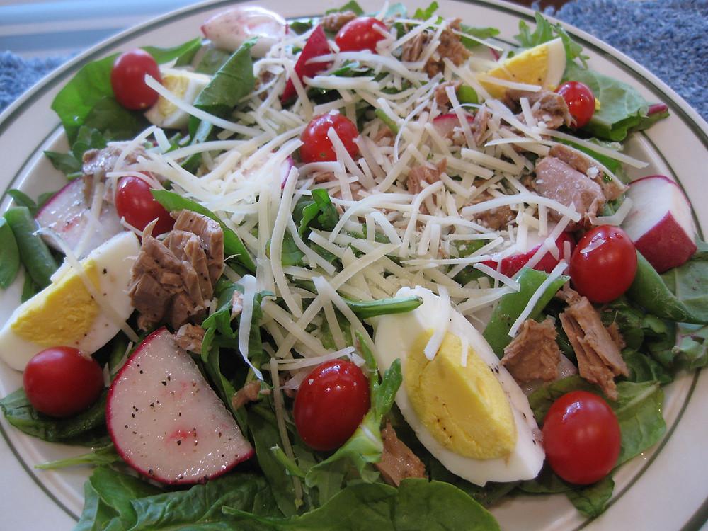 Nicoise Style Salad