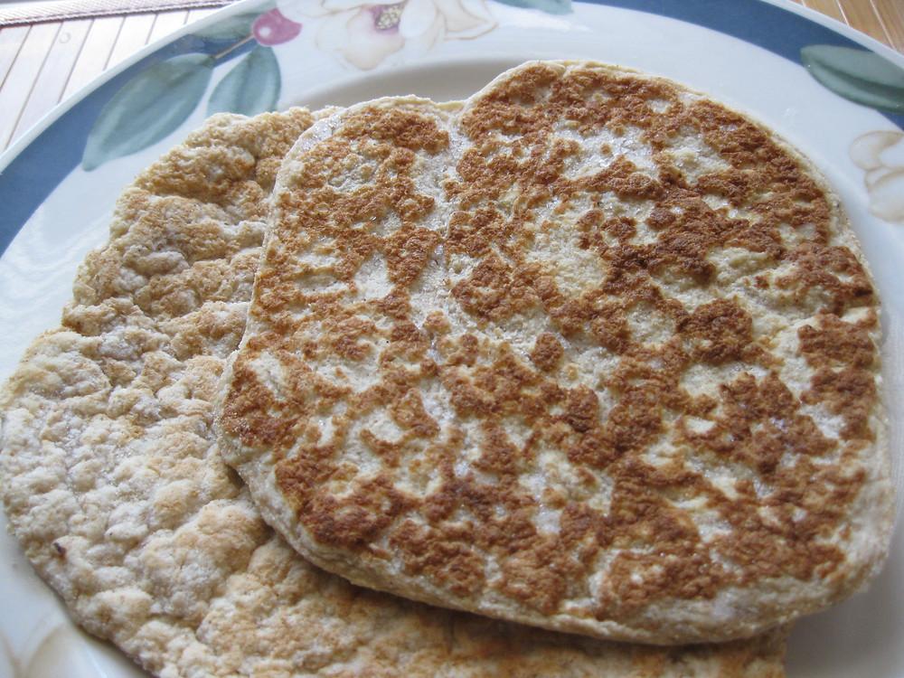 Flexible Coconut Flour Naan or Pita Bread