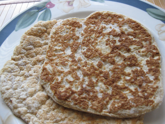 Flexible Coconut Flour Naan or Pita Bread