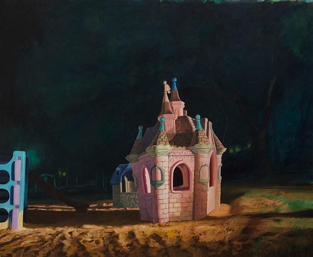 Arenero 4| óleo sobre tela 100 x 135 cm 2013