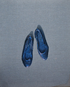 Zapatos   óleo sobre tela 90x60cm 2013