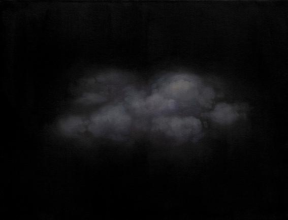 Niebla | óleo y cera sobre madera entelada 35