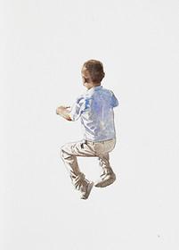Niño 1 | Acuarela sobre papel 40x20cm 2013.